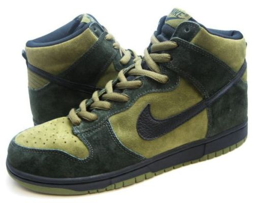 "Nike SB Dunk High ""Hulk"""
