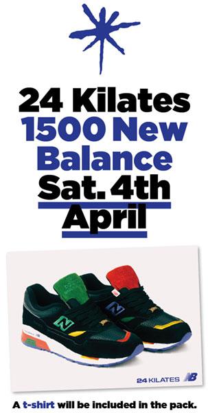 """24 Kilates x New Balance 1500 """"Miro"""""""