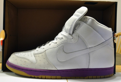 mita sneakers x Nike Dunk High White_Hyacinth uploaded by Druken Aligator Poupon