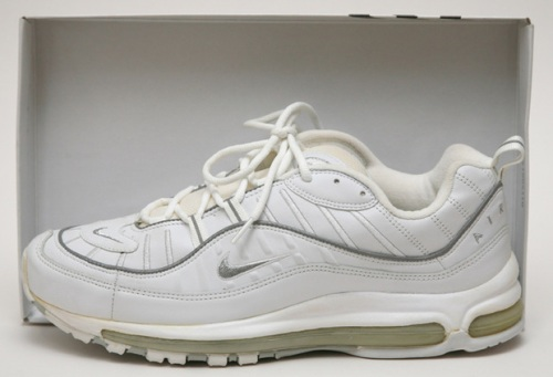 """Nike Air Max 98 """"White"""" uploaded by Moseley"""