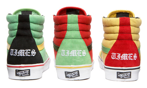Van x Supreme x Bad Brains SK8-Hi Collection