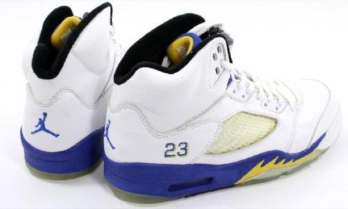 "Air Jordan 5 ""Laney"" Rear"