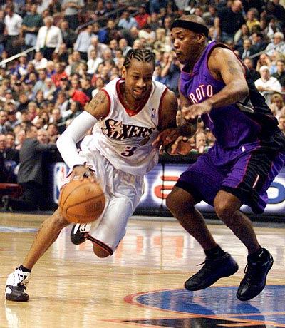 Allen Iverson 2001 Playoffs
