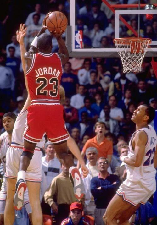 "Michael Jordan ""The Shot"""