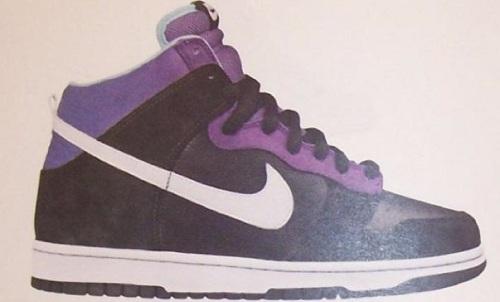 """Nike SB Dunk High """"Heaven's Gate"""" Sample"""