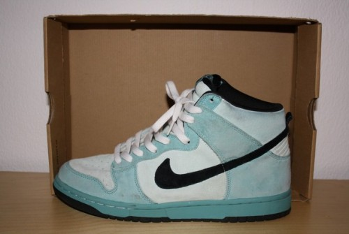 "Nike SB Dunk High ""Sea Crystal"" uploaded by Elsey"