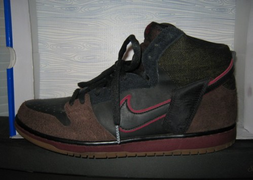 "Nike SB x Brooklyn Projects Dunk High ""Reign In Blood"" uploaded by fatboi1017"