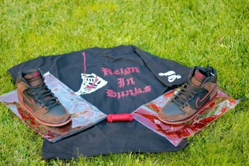 "Nike SB x Brooklyn Projects Dunk High ""Reign In Blood"""