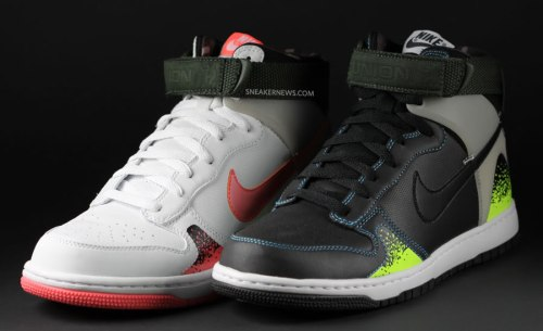 Union x Nike Dunk High Challenge Supreme image via Sneakernews.com