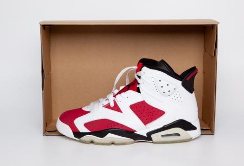 "Air Jordan 6 ""Carmine"" uploaded by Mourad STREET RULES !!!"