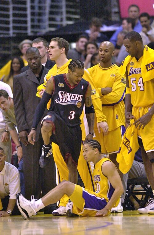 Allen Iverson over Tyronne Lue