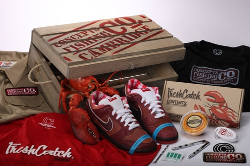 "Concepts x Nike SB Dunk Low Pro ""Red Lobster"""