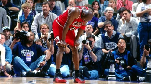 """Michael Jordan """"Flu Game"""""""