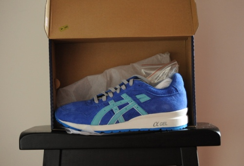 "Ronnie Fieg x ASICS GT-II '""Ultra Marine"" uploaded by kapology"