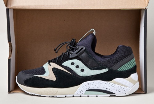 "Sneaker Freaker x Saucony Grid 9000 ""Bushwhackers"" uploaded by Sneaker Freaker"