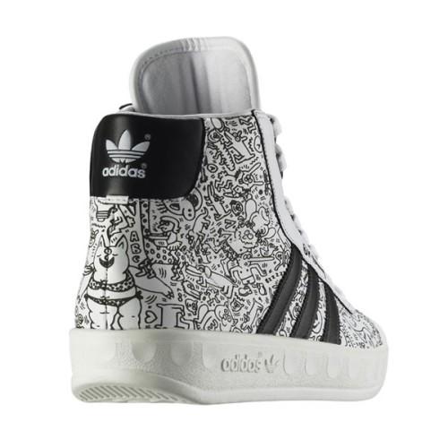 adidas Adicolor Hi BK2 Jeremy Scott For Keith Haring Rear