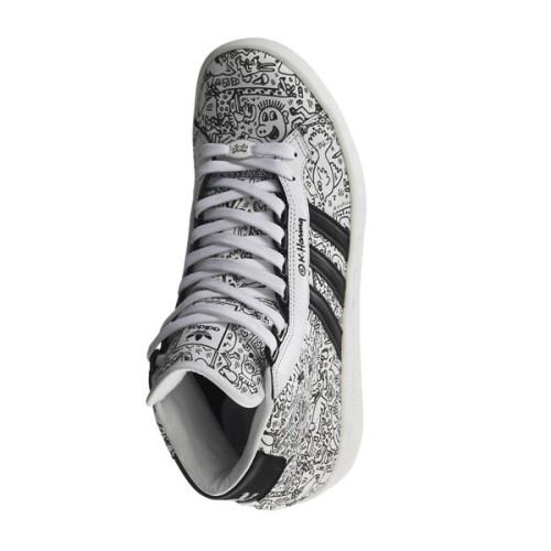 adidas Adicolor Hi BK2 Jeremy Scott For Keith Haring