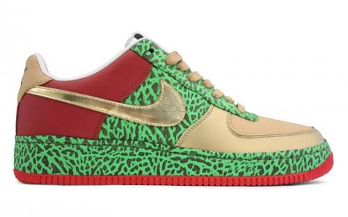 "Nike Air Force 1 Low Supreme ?estlove ""Gold Toe"" via Hypebeast"