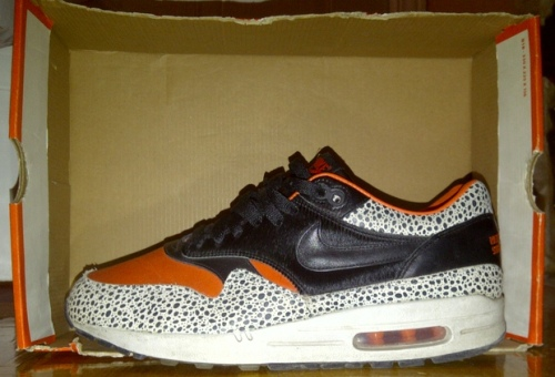 "Nike Air Max 1 Supreme ""Safari"" uploaded by Marcus G"