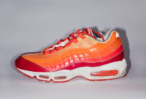 "Nike Air Max 95 ""Human Torch"" uploaded by Dj Fish"
