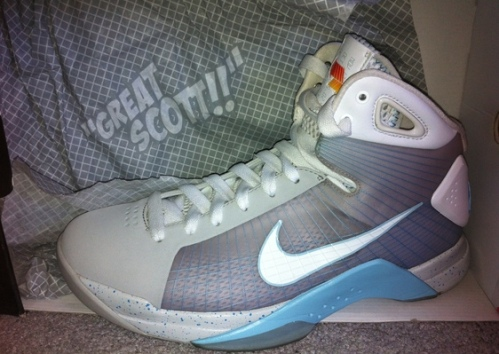 "Nike Hyperdunk Supreme ""Marty McFly"" uploaded by Wayne141"