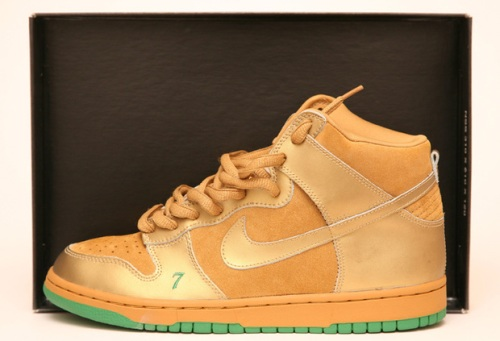 "Nike SB Dunk High ""Lucky"" uploaded by Kish Kash"