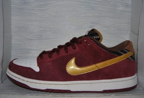 "Nike SB Dunk Low ""Ron Burgundy"" uploaded by MG.NF3"