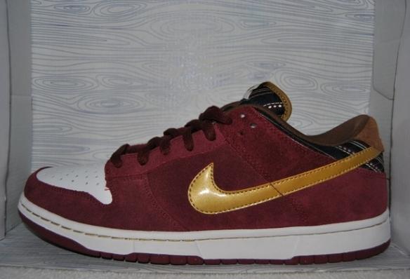"best sneakers famous brand online for sale Sneaker Spotlight: Nike SB Dunk Low ""Ron Burgundy"" | Sneakerpedia"