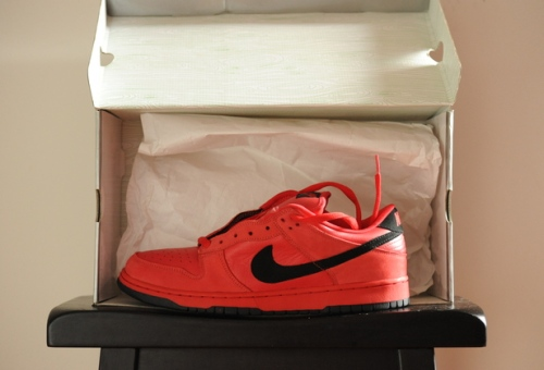 "Nike SB Dunk Low Tre Red_Black ""Vamps"" uploaded by kapology"