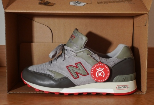"24 Kilates x New Balance 577 ""Red"" uploaded by Prop Lo"