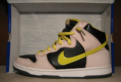 "Nike SB Dunk High ""Ms. Piggy"" uploaded by Reid_D"