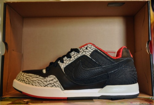 "Nike SB Zoom Air P-Rod 2 ""Black Cement"" uploaded by Pkballr"