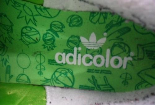 "adidas Stan Smith II ""Kermit the Frog"" Insole"