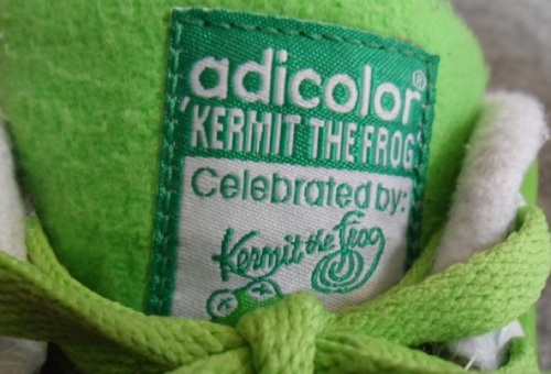 "adidas Stan Smith II ""Kermit the Frog"" Tongue"