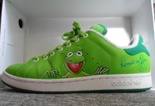 """adidas Stan Smith II """"Kermit the Frog"""" uploaded by Wildsau"""