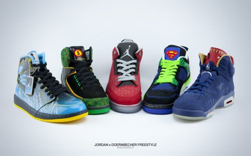 Air Jordan and Doernbecher Freestyle Collection