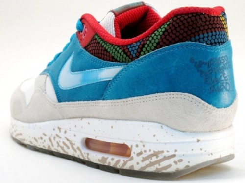 "Nike Air Max 1 ""Brazil"" Heel"