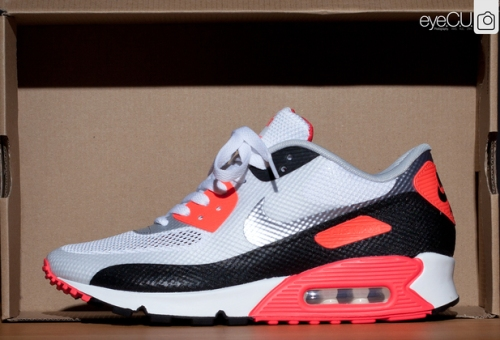 "Nike Air Max 90 Hyperfuse ""Infrared"" uploaded by Mr. Will"