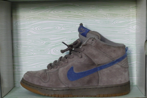 "Nike SB Dunk High ""Iron"" uploaded by Nahsayn"
