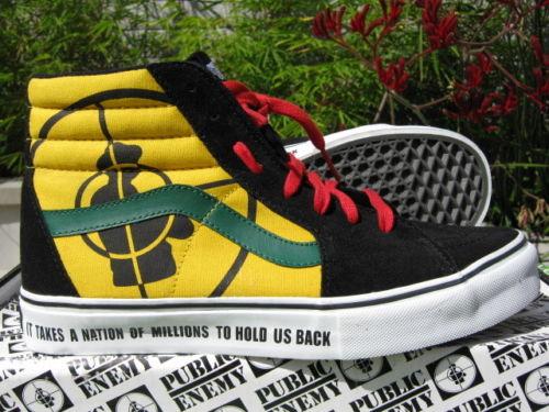 """8889127a7cfad3 Sneaker Spotlight  Supreme x Vans Sk8-Hi SL """"Public Enemy ..."""