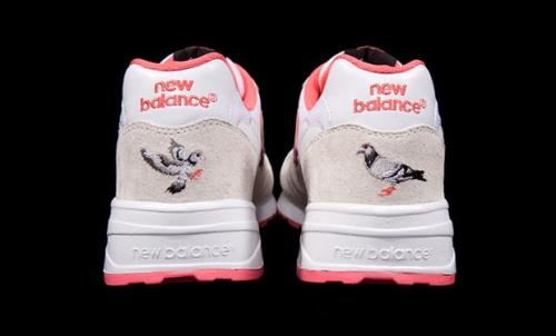 """Staple x New Balance 575 """"White Pigeon"""" Heel"""