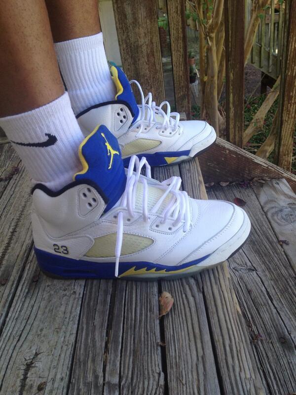 "the latest 7df64 66874 Sneaker Showcase  Air Jordan 5 ""Laney""   Sneakerpedia"