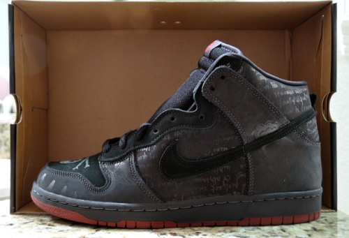 "Nike SB Dunk High ""Melvin"" Black uploaded by desharu"