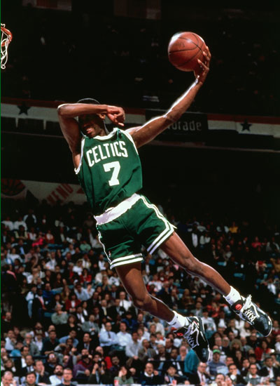 Dee Brown Action Portrait