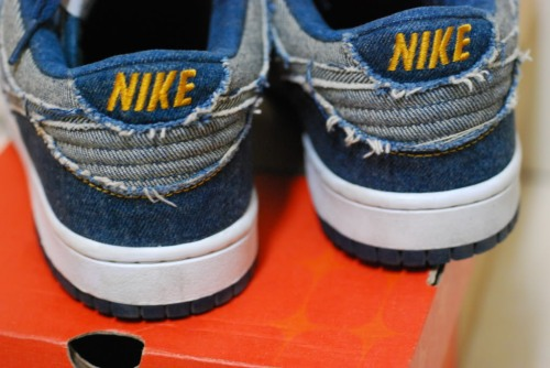"Nike Dunk Low CL ""Blue Denim"" Heel"