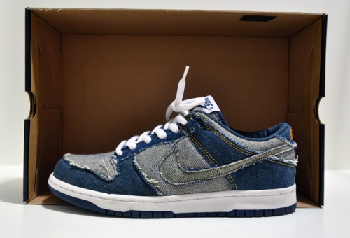 "Nike Dunk Low CL ""Blue Denim"" uploaded by airon0828"