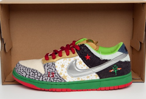 "Nike SB Dunk Low ""What the Dunk"" uploaded by  Jay BKRW Smith"