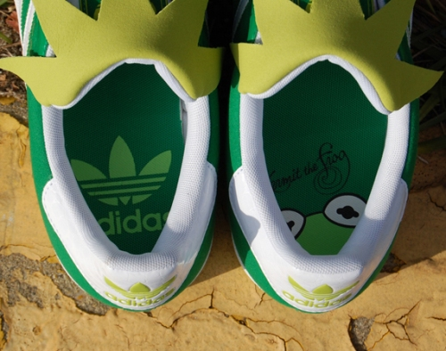 "adidas Superstar II ""Kermit the Frog"" Insoles"