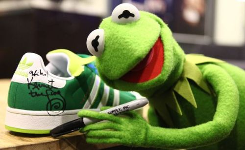 "adidas Superstar II ""Kermit the Frog"""