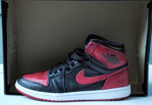 "Air Jordan 1 ""Banned"" uploaded by gearsolegoods"